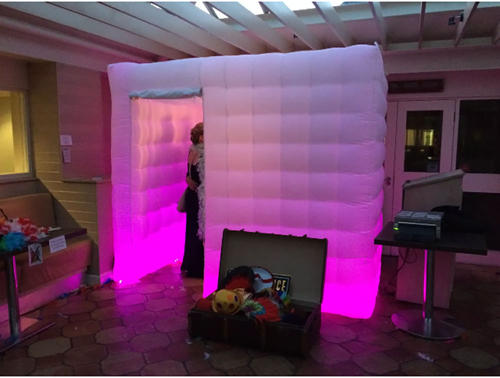 inflatable photo booth bouncy vending